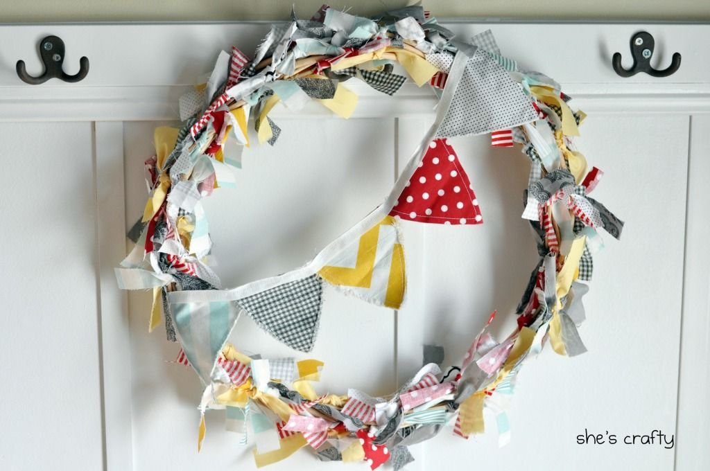 new summery wreath?!