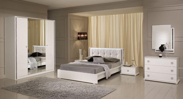 Chambre A Coucher Complete Coloris Blanc : Images about chambre à coucher on amalfi design