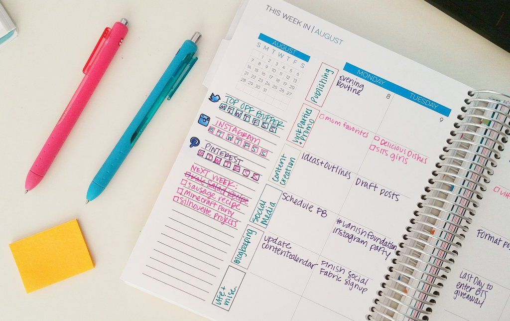 How To Use a Planner for Blogging Limelife Planners