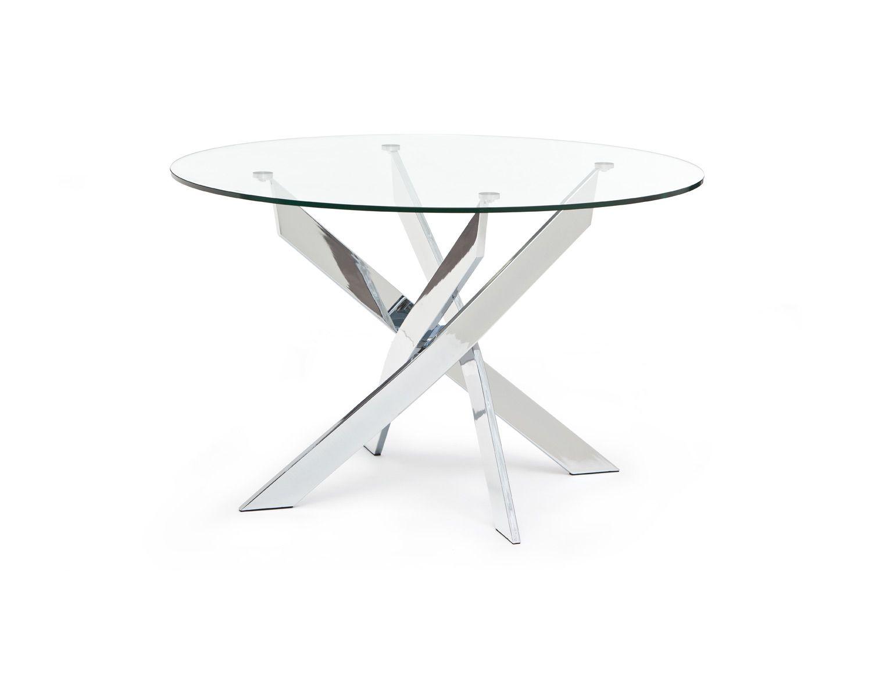 Structube Dining Room Tables Ibiza Chrome Chrome Dining
