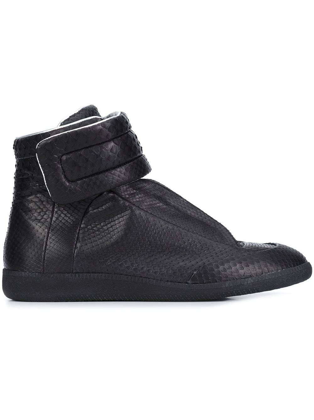 margiela black sneakers