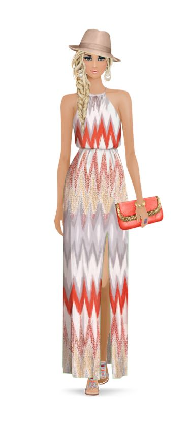 Look styled for Covet Fashion: Girl From Ipanema