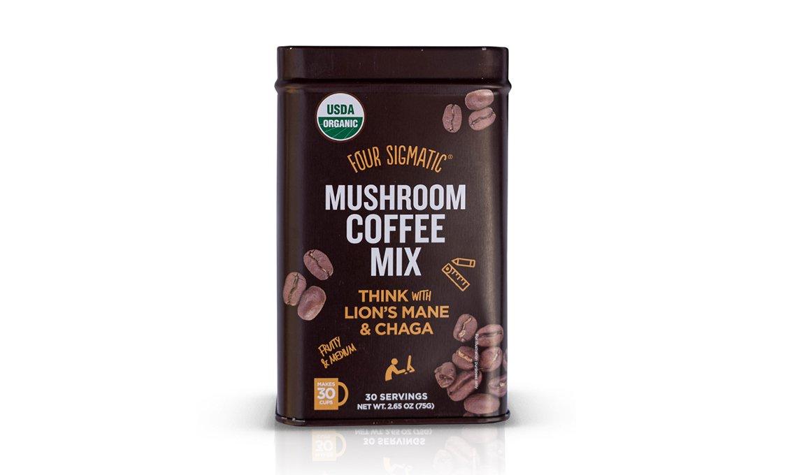 Four sigmatic mushroom coffee with lions mane 30
