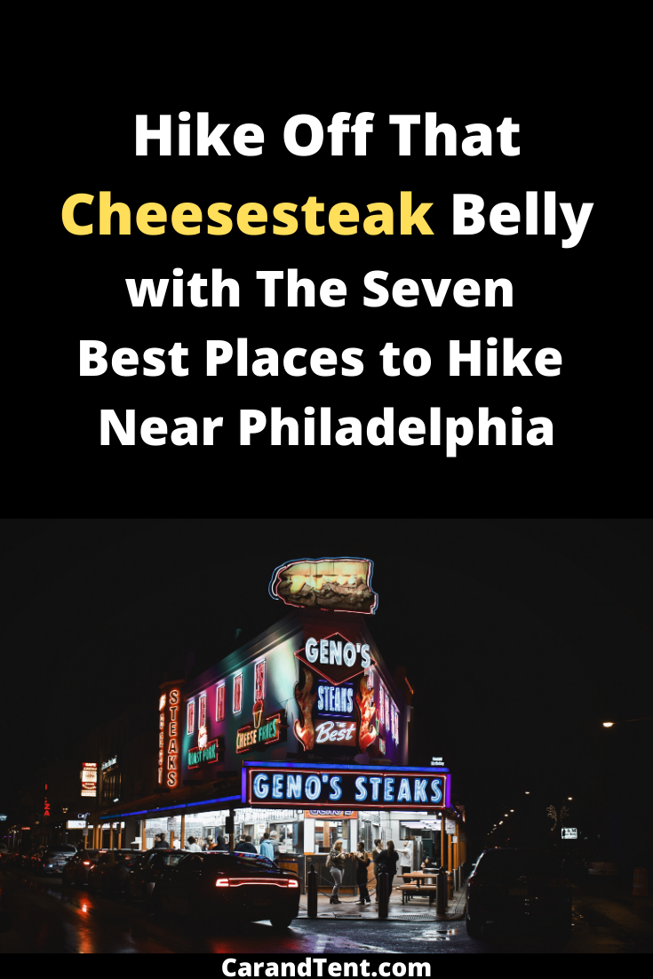 Find out where to camp and hike near Philadelphia.  #camping #hiking #philadelphia #exercise #fitnes...