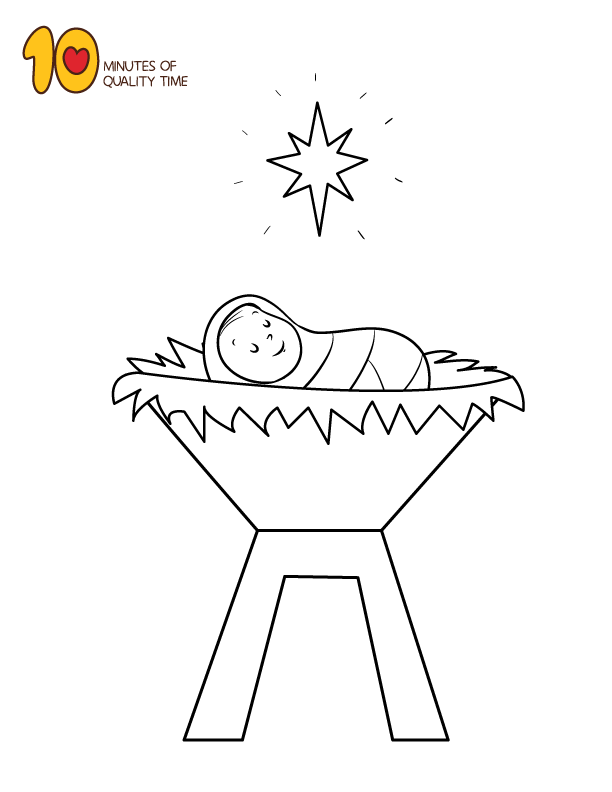 Baby Jesus Coloring Page Jesus Coloring Pages Coloring Pages Penguin Coloring Pages