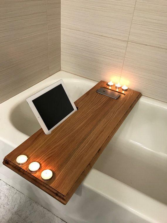 Bath Tub Caddy Bath Tray Wood Bathtub Caddy Wood By