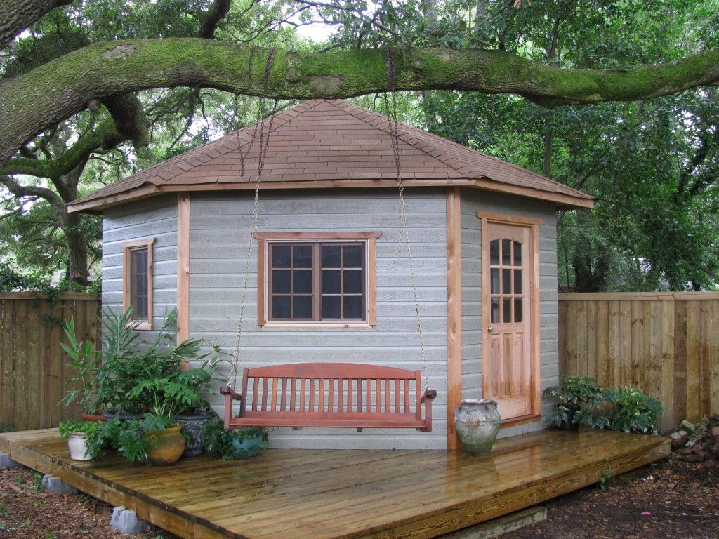 the catalina our 5 sided corner shed - Corner Garden Sheds 7x7