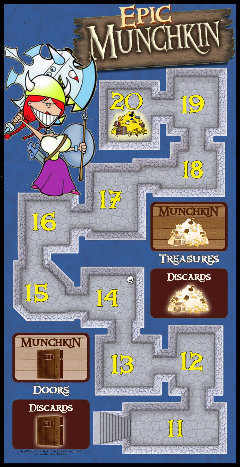 Epic Munchkin Game Board by firedude1994 on deviantART | T.W.E.R.P.S ...