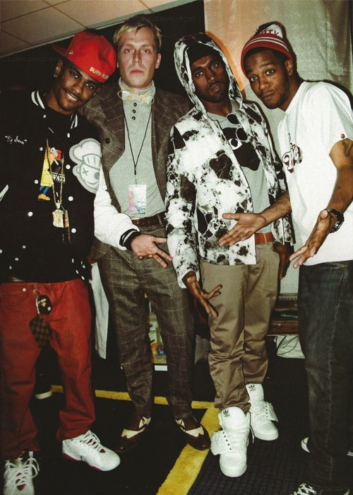 G O O D Kanye West Style 90s Hip Hop Fashion Cool Kidz