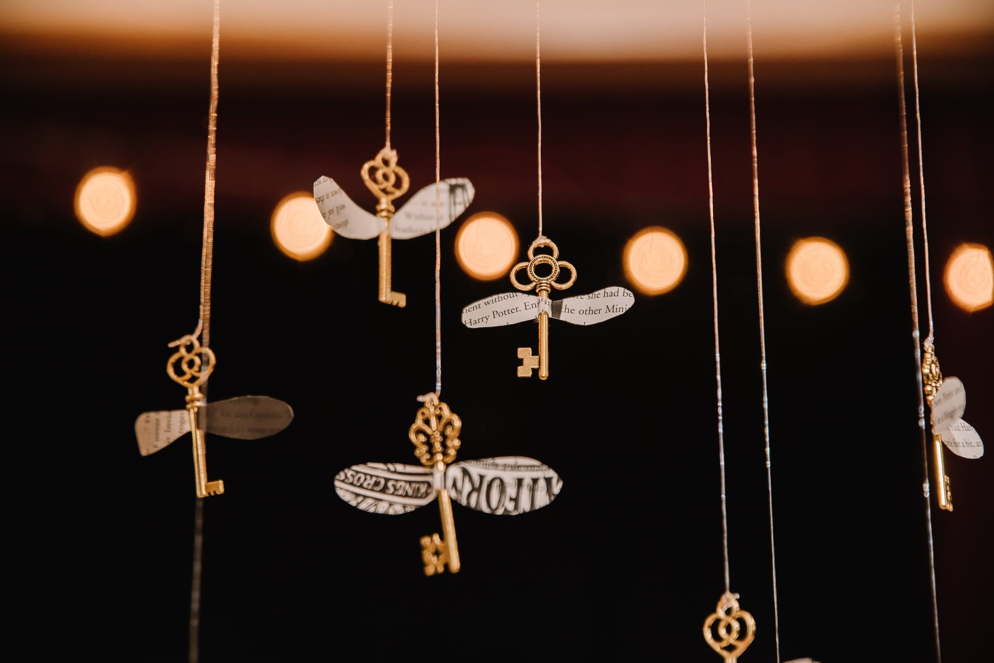 Alohomora! This Romantic Harry Potter Wedding Shoot Has the Flying Key to My Heart