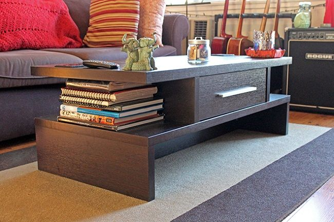 long skinny coffee table Table Designs Plans Pinterest