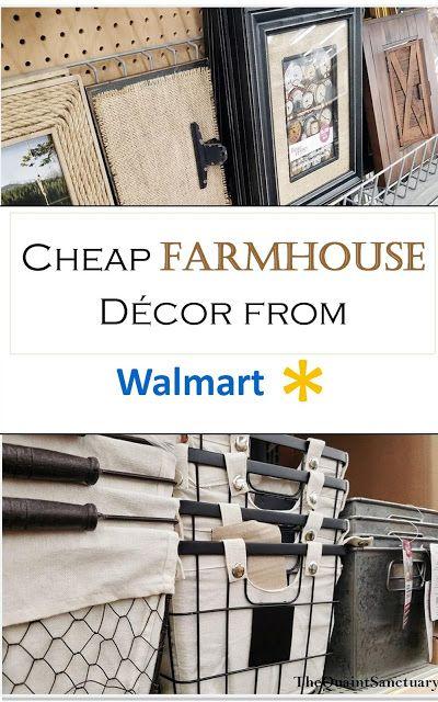 The Quaint Sanctuary Farmhouse Decor You Should Buy Walmart