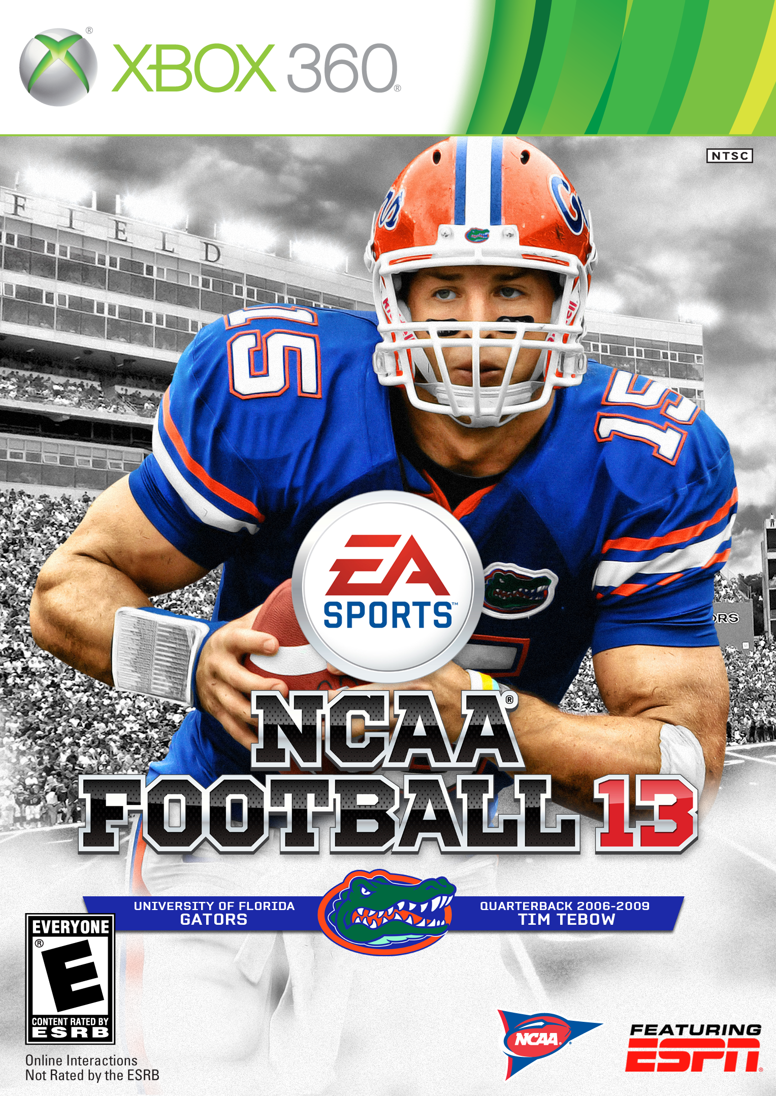 Tim Tebow Florida Gators Gator Nation
