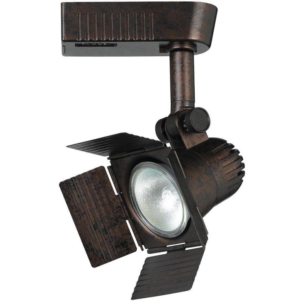 Cal Lighting Ht 972 1 Light Spot Light With Barn Door For Ht Track