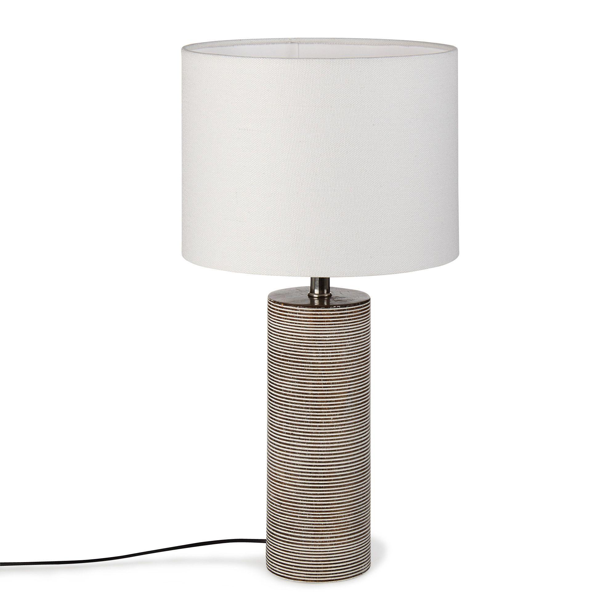 À Lampes H41cm Blanc Salon Poser Lampe Luminaires Kandi WYID2H9eE