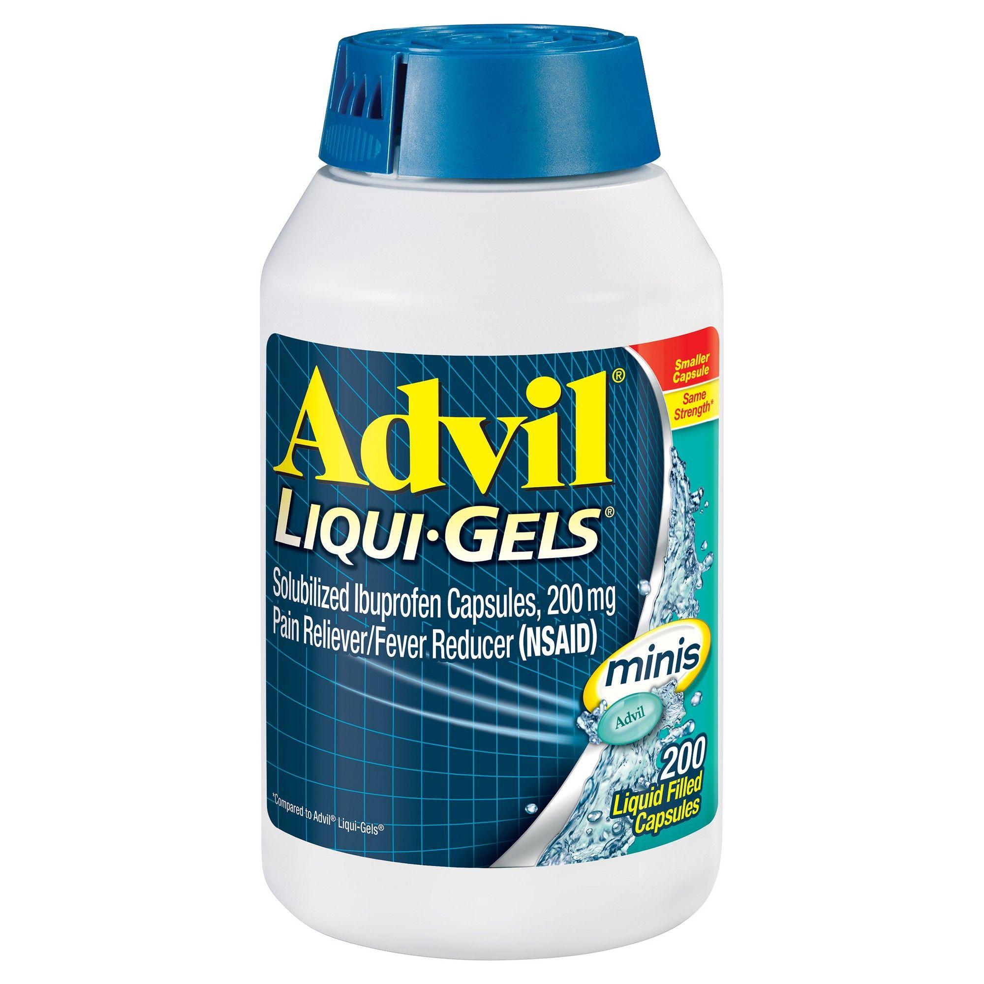 Advil Pain Reliever/Fever Reducer Liqui-Gel Minis - Ibuprofen (NSAID