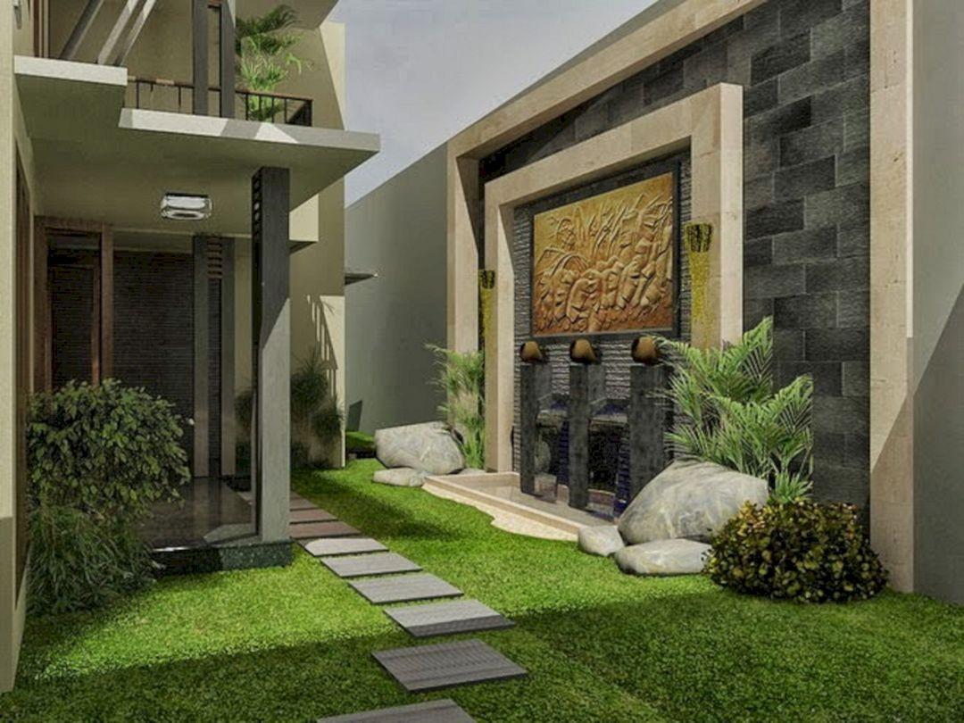 50 Incredible Calming Minimalist Garden Design Ideas Freshouz Com Backyard Garden Design Small Backyard Garden Design Minimalist Garden