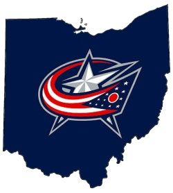 Blue Jackets Logo - Coat Nj