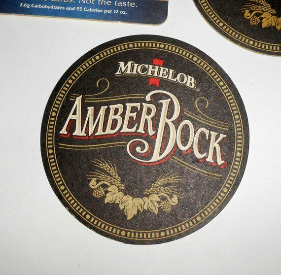 Michelob Coasters Amberbock Ultra Party Supplies Scrapbooking