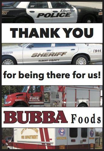 Thank You Elberton Georgia Bubba Foods Elberton Georgia Georgia Elbertonga Shoplocal Localga Elberton