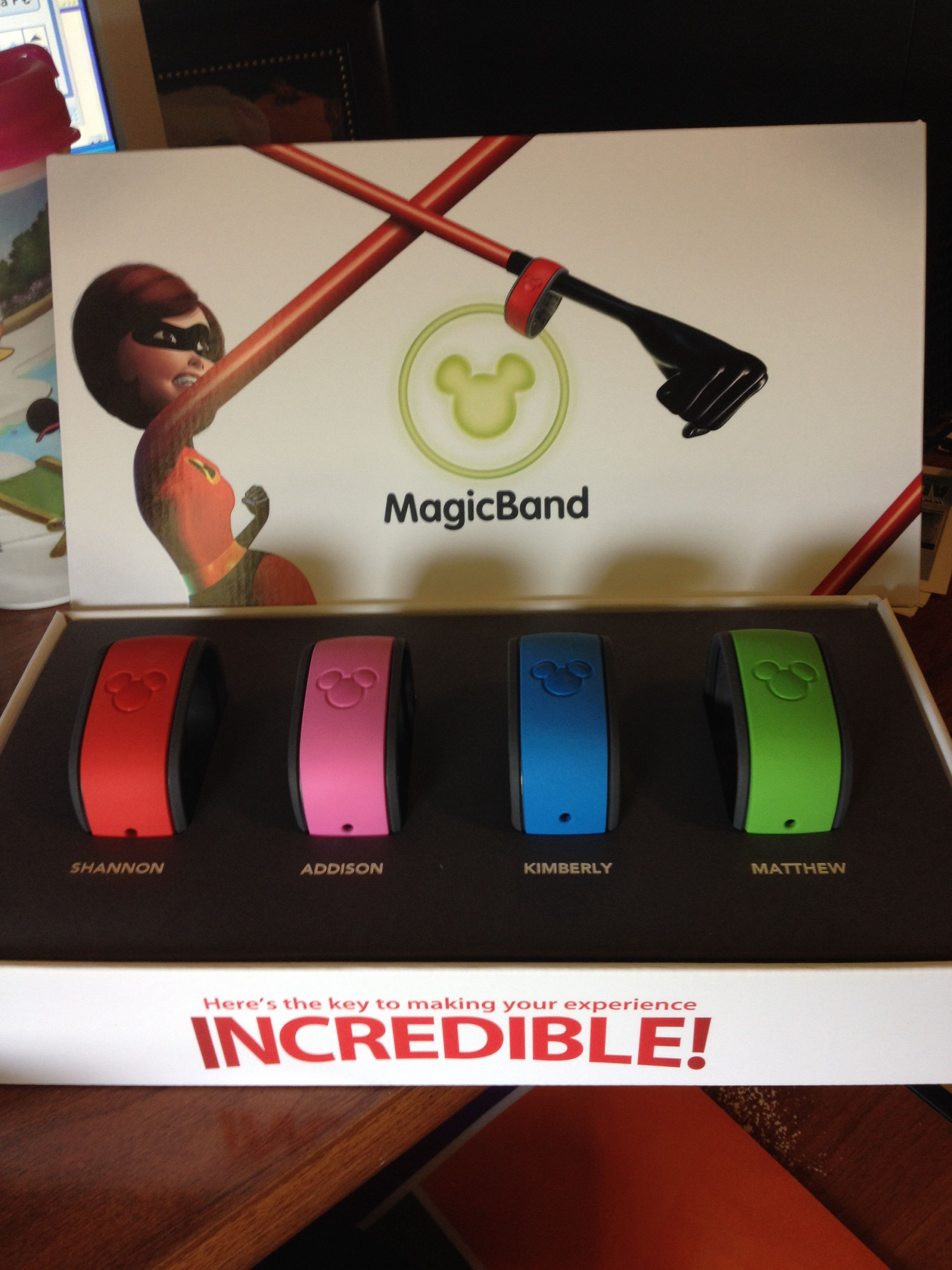 customize disney magic bands