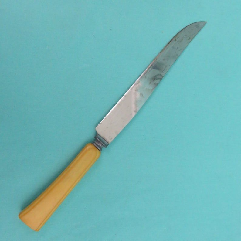 Stag Hunting Knife Large Elk & Bocote Wood Handle Fixed   Etsy