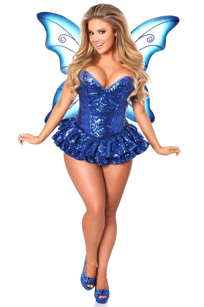782e59298 Daisy Corsets Top Drawer Premium Sequin Blue Fairy Corset Dress Costume  Free Shipping On All Orders Over  79  Costumes  DaisyCorsets   unspokenfashion ...