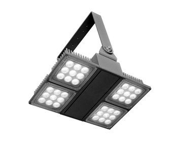 Light fitting made of die-cast aluminium. Die-cast aluminium control gear box. Double layer polyester powder paint resistant to corrosion, atmosheric conditions and salt spray fog. UV rays stabiliz…