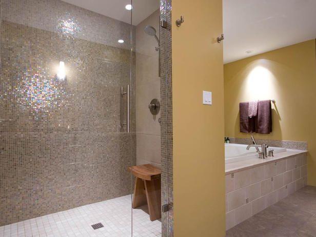 Tile Decor Wayne Nj Love The Opalescent Tile Bathroom Inspiration  Pinterest