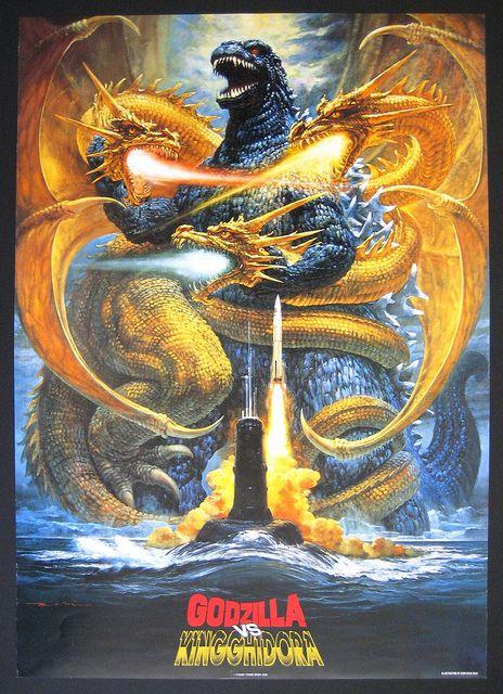 Gojira vs King Ghidora