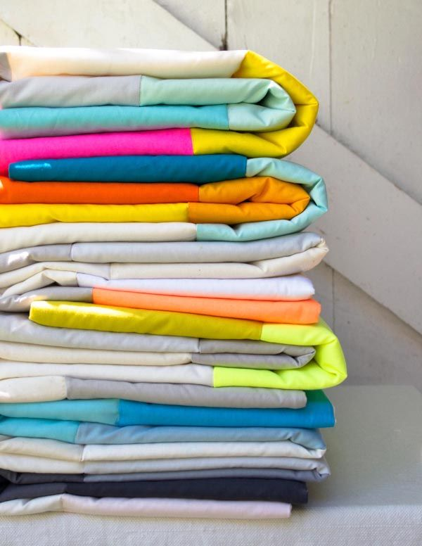 Super Easy Sewn Blanket for Beginners. Adjust for different sizes ...