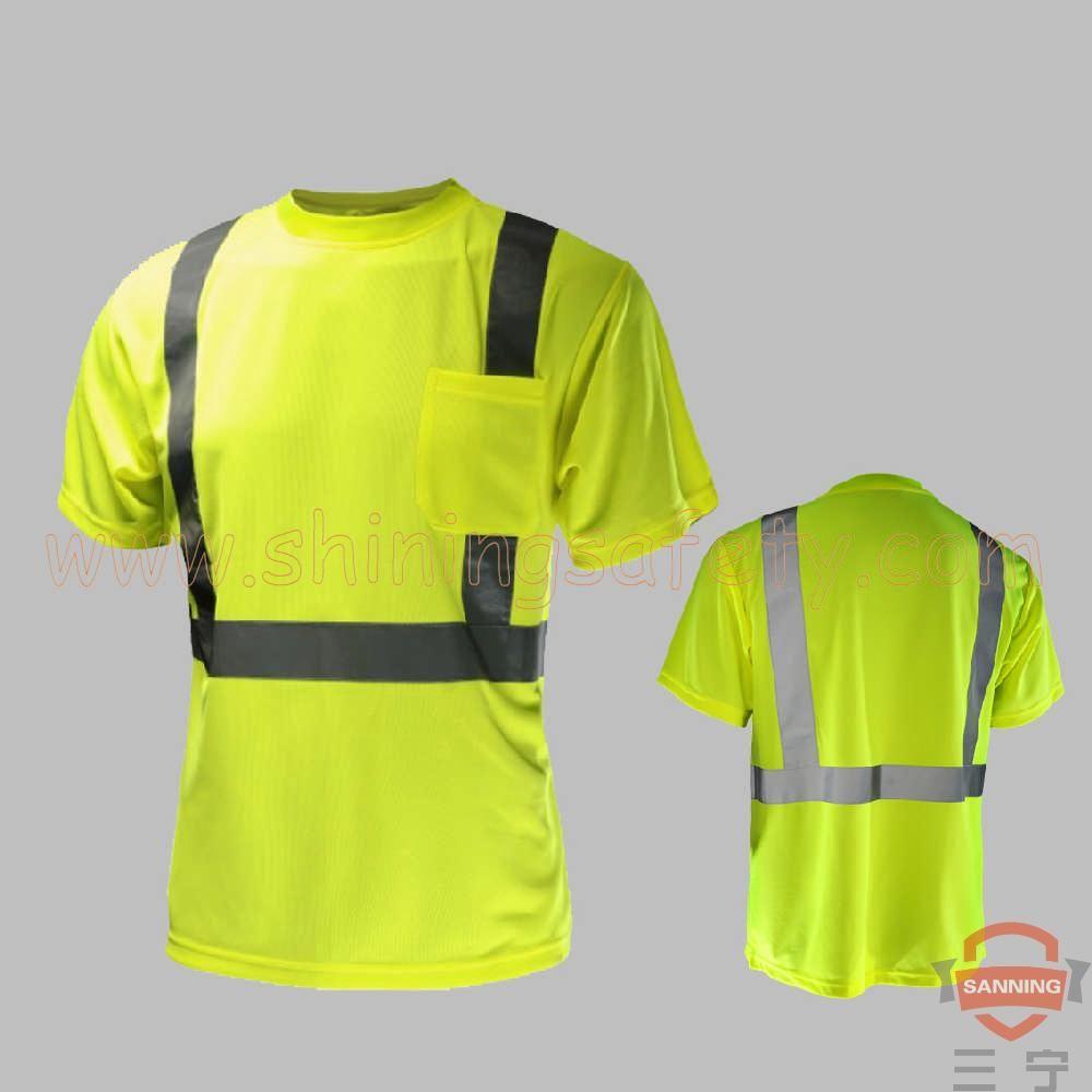 cb37d593f02045 ANSI Class 2 Short Sleeve T-Shirt