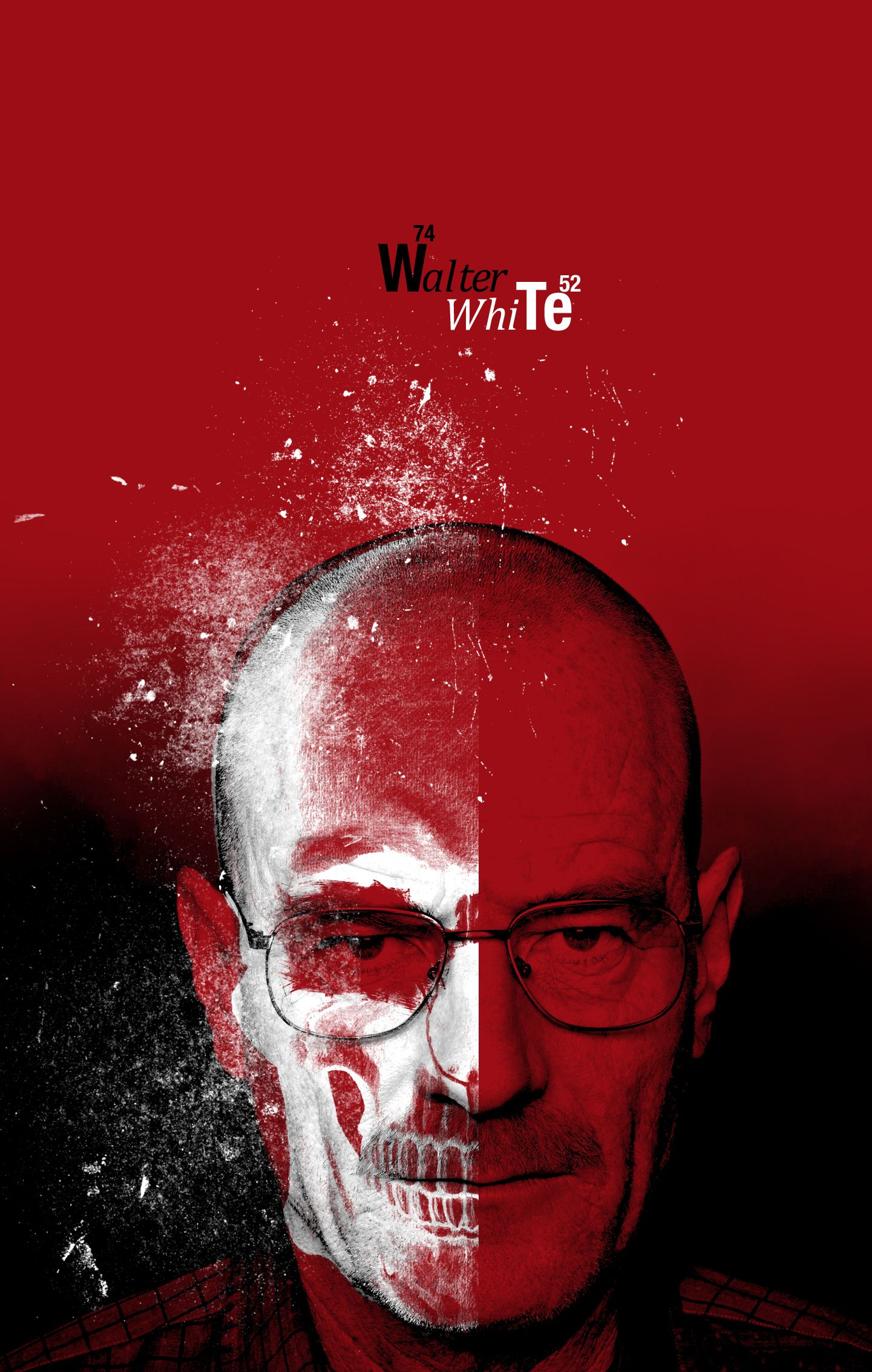 Walter White from Breaking Bad Breaking bad poster