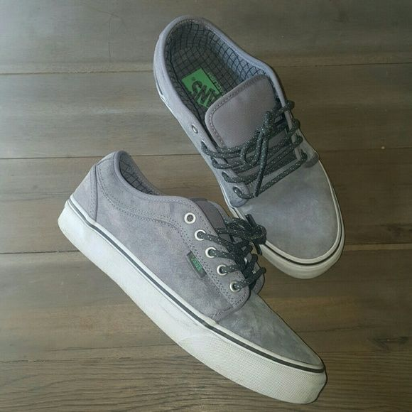 f8a774b1f0 Vans Chukka Low Hiker Suede Skate Shoe Like new. Grey mint. Vn ...