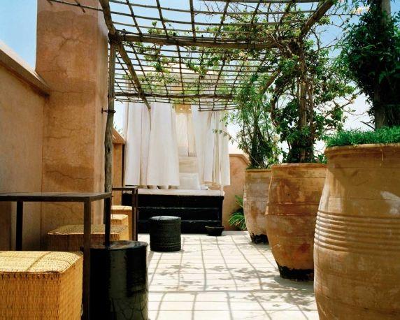 visite medina marrakech, l'exterieur