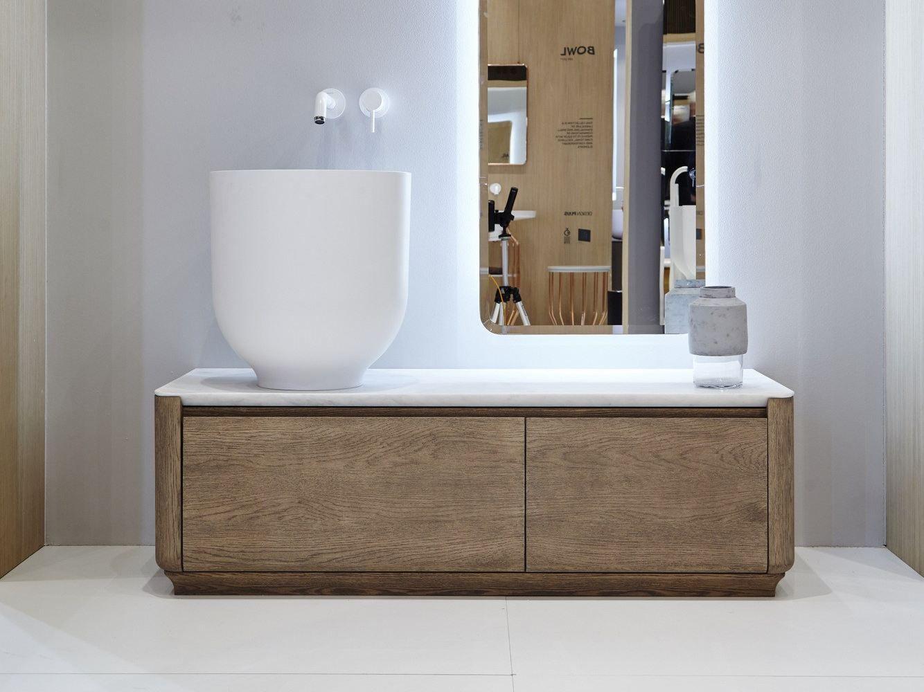 Origin meuble sous vasque by inbani design seung yong song for Lavabos antiguos roca