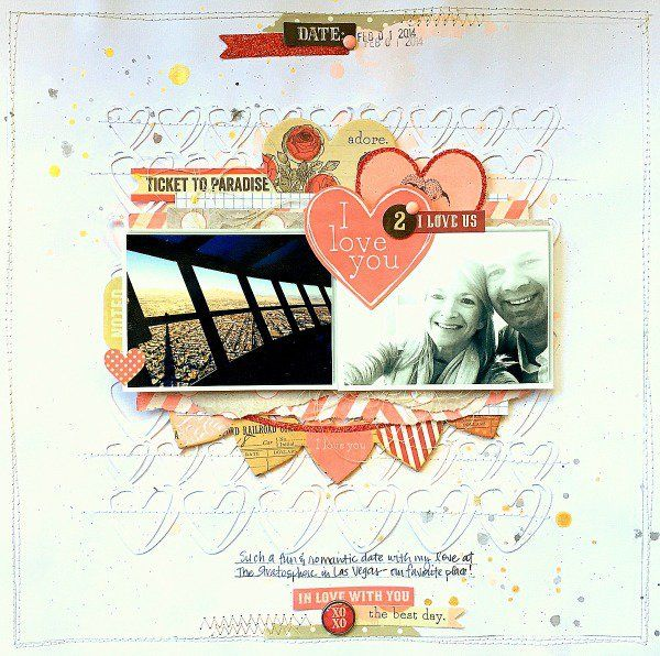 My Mind's Eye DT Project - by Missy Whidden - Lost & Found Record It Heirloom collection - Heart Cut File from The Cut Shoppe