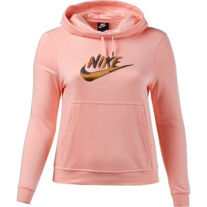 bdcc127b98 Nike Women s Funnel-Neck Fleece Hoodie in 2018