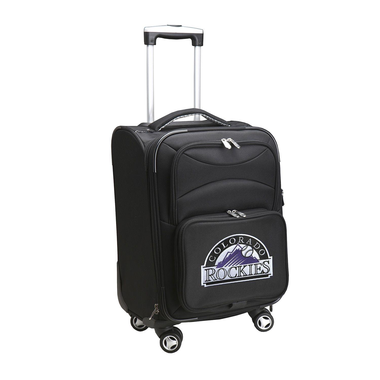 Denco Colorado Rockies 20-inch Carry On 8-wheel Spinner Suitcase