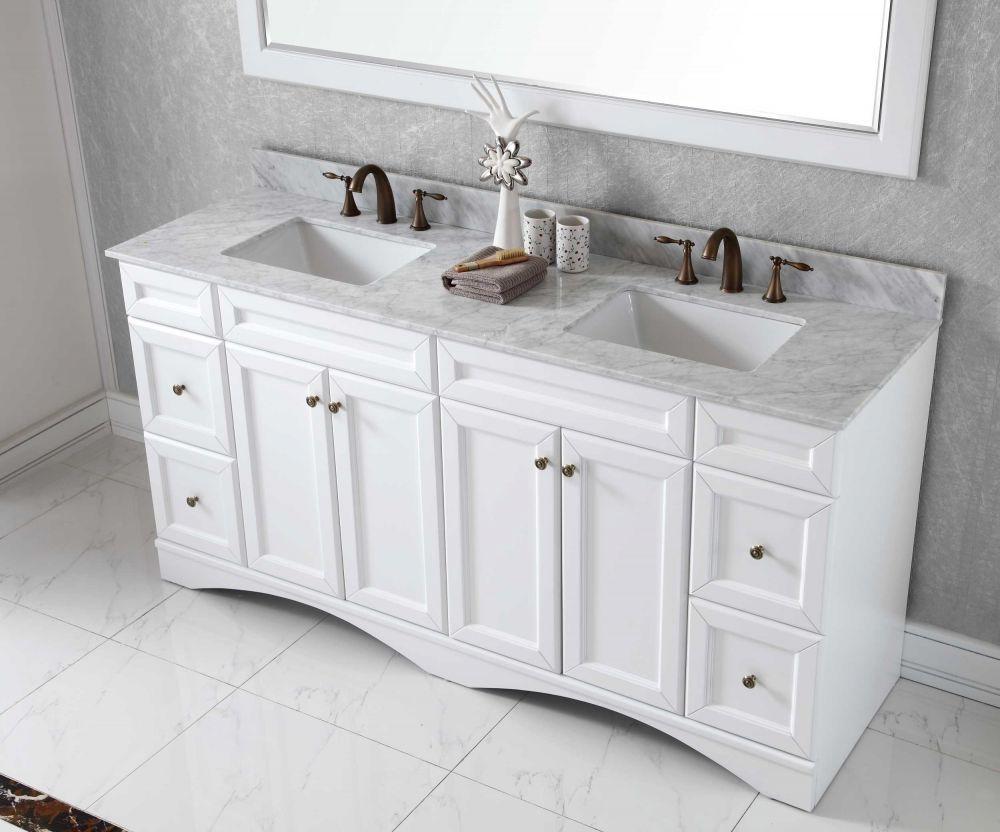 Virtu Usa Ed 25072 Wmsq Wh Talisa 72 In Bathroom