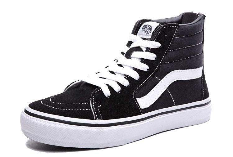 1f4fe886d2 Classic Vans Paul Walker Black Zip SK8 Hi Skateboard Shoes  Vans ...