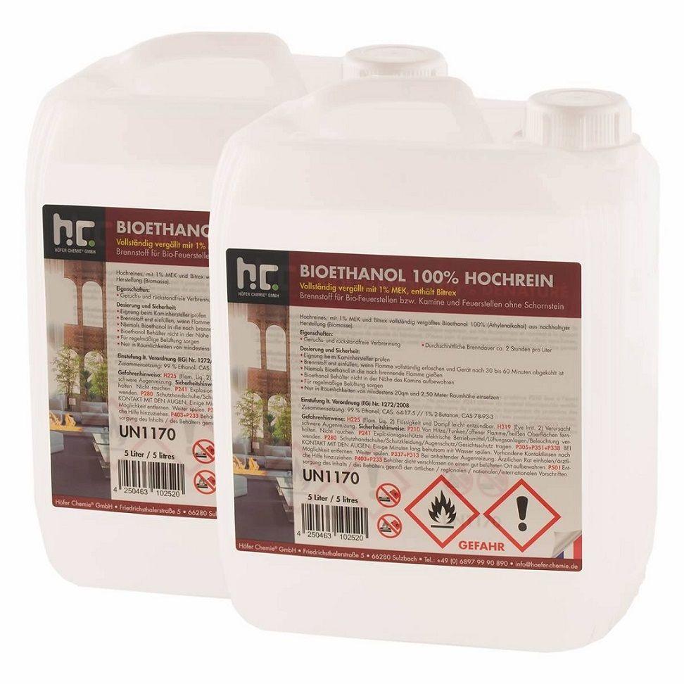 Premium Bio Ethanol Von Hofer Ist Ein Geruchsfreier