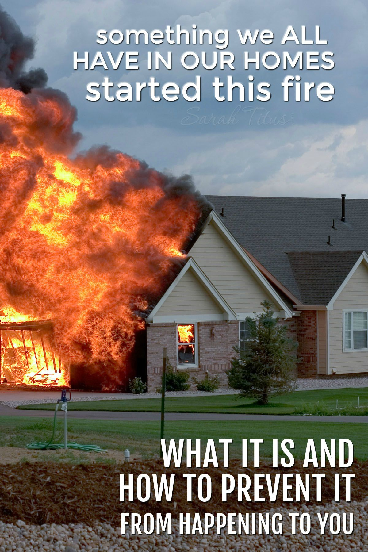 Something We All Have In Our Homes Started This Fire (Kids