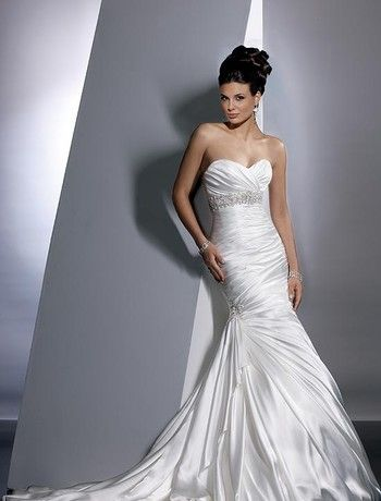 Bridal Gowns Maggie Sottero Mermaid Wedding Dress With Sweetheart
