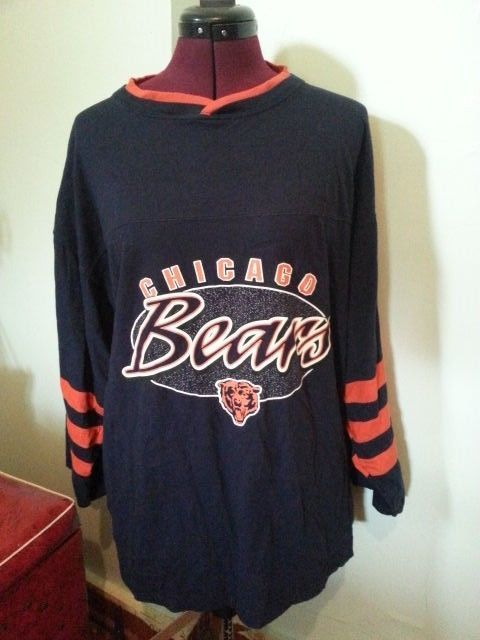 ed83ecc7e1c Chicago Bears Shirt size Large The Edge 3/4 sleeve length #theedge # ChicagoBears