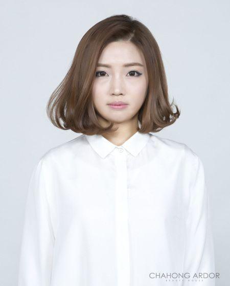 Cushion C Perm Short Medium Hair Styles Short Hair Styles Hair Styles
