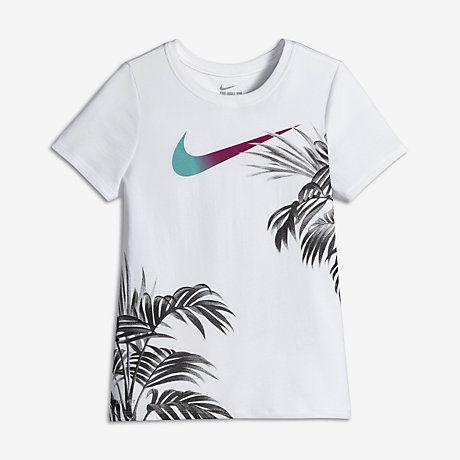 Nike Dry Paradise Big Kids Girls Basketball T Shirt Xs Xl Basketball Girls Outfits Shirts Printed Shirts