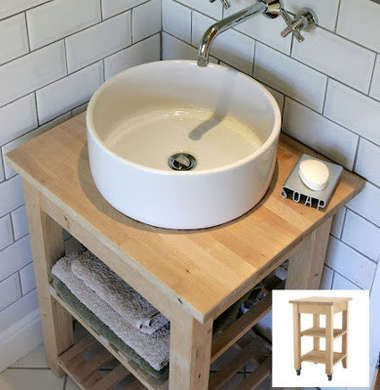 16 Ingenious Ikea Hacks Waschtisch Bad Hacks Waschtisch Klein