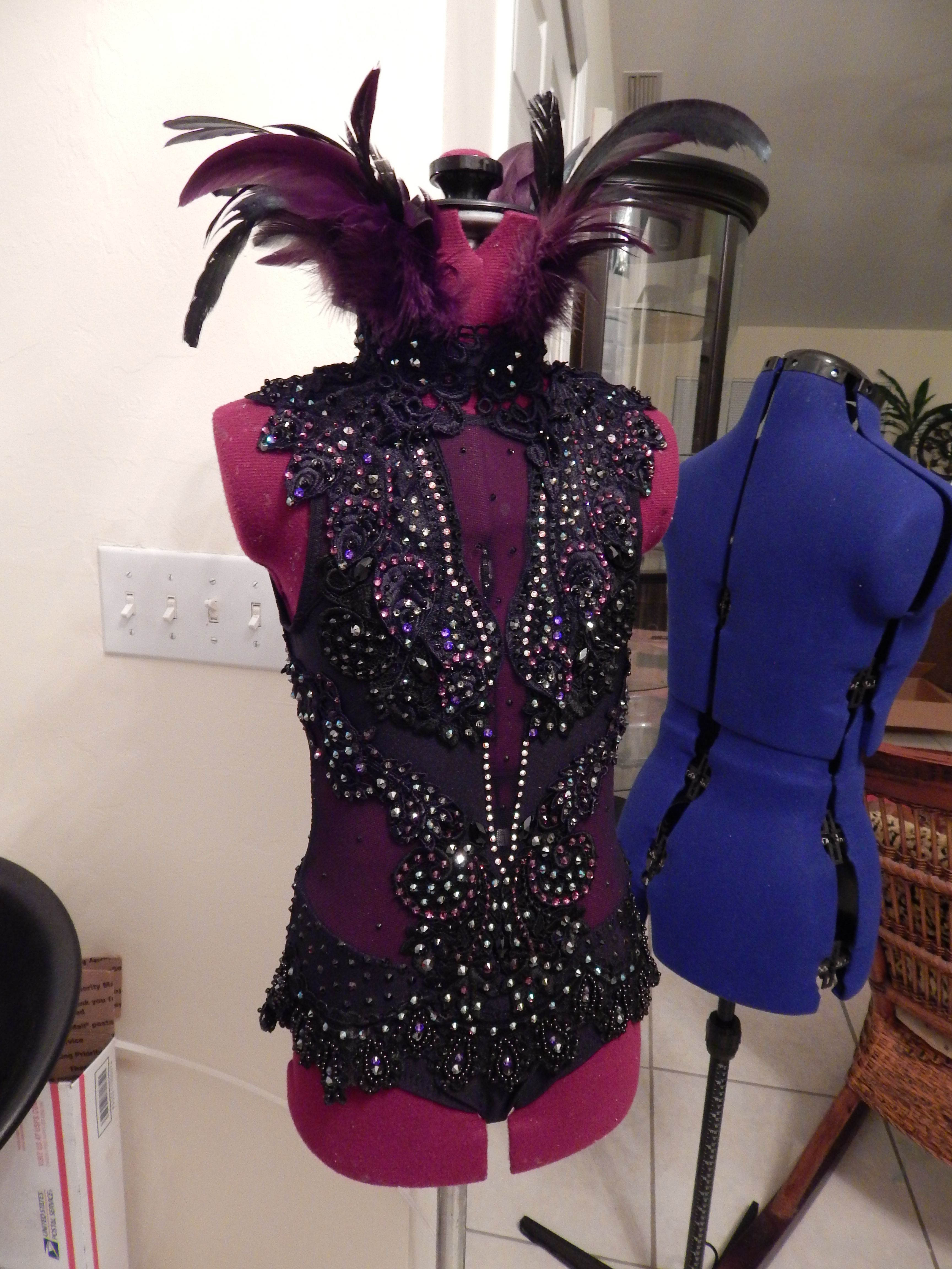 9820513df588d my design for 'Maleficent' Malificent Costume, Lyrical Dance Dresses, Jazz  Costumes,
