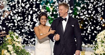 Sean Lowe And Catherine Giudici S Bachelor Wedding Our Favorite Moments Lovely Wedding Dress Sean And Catherine Wedding Bachelor Wedding